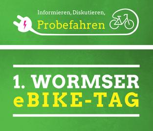 Erster Wormser e-Bike-Tag am 16. Juli