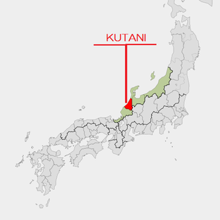 kutani on the map