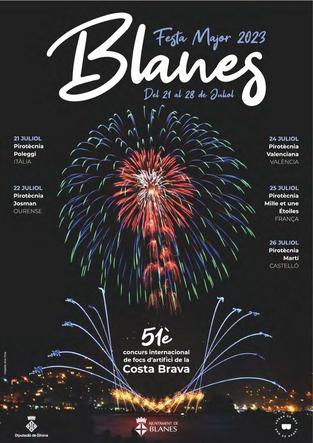 Fiestas en Blanes Festa Major i Concurs de Focs Artificials