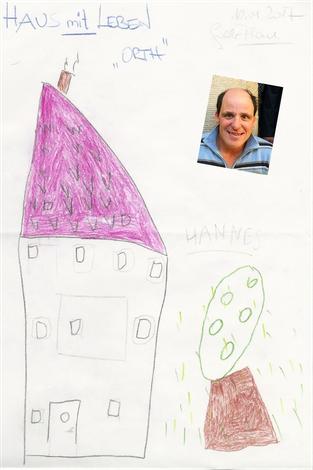 Künstler: Hannes Rundstuck, zukünftiger Bewohner