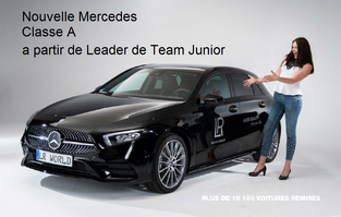 A partir de Leader de Team Junior roulez en Mercedes Classe A - LR Health and Beauty