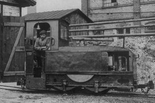 Oberursel Motorlokomotive der Merck'schen Kleinbahn
