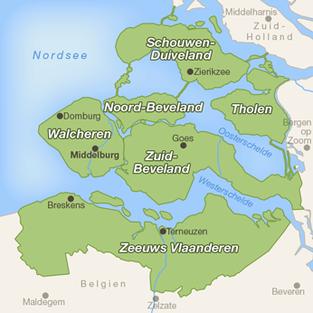 Zeeland Holland Karte.Vom Fietsen Bitterballen Kibbeling Und Frietsaus Thomas