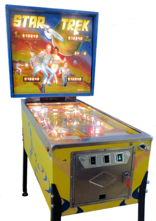 "Flipper ""Star Trek"" von Bally"