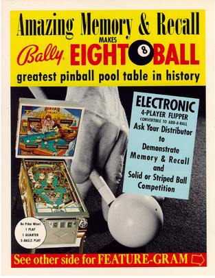 """Eight Ball"" von Bally"
