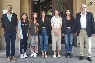 Picture of Prof. Dr. Ernst Poeppel, Morteza Izadifar, Wand Wei, Yang Taoxi, Yang Haiming, Garam Jeong and Ezgi Önkü