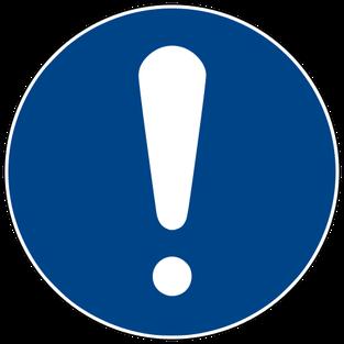 Allgemeines Gebotszeichen: Grundüberlegungen vor dem FSW durchführen
