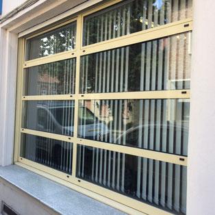 Le store californien vu de l'extérieur réalisation BR STORES Dunkerque