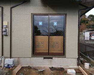 フレミングJ・窓交換