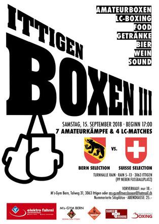 ITTIGEN BOXEN III SA 15.09.2018