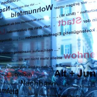 """Ausstellung """"gemeinsam bauen""""_HDA Graz 2009_Foto Michael Sladek"""