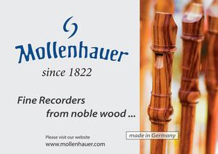 モーレンハウエル / Mollenhauer Recorders