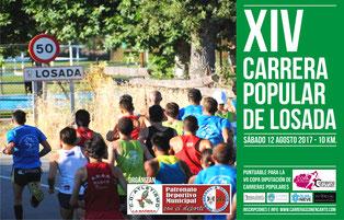 XIV CARRERA POPULAR DE LOSADA - Losada, 12-08-2017