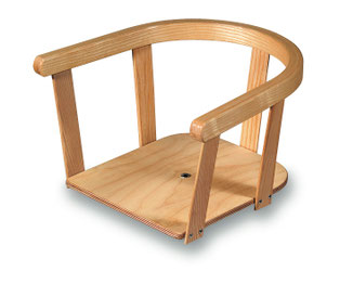Kindersitz für Schlitten