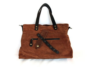 Große Handtasche aus Leder