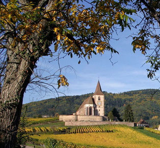 Eglise St Jacques Hunawihr Alsace