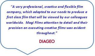 Magi Films client - Diageo.