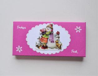 Geschenkschachtel für Schokolade