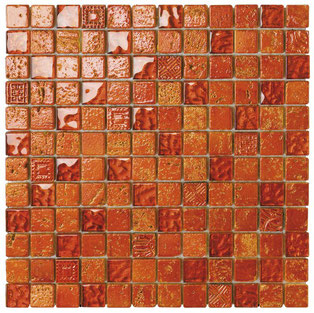 Mosaico foglia orange