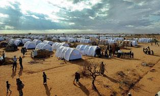 Il campo profughi di Dadaab in Kenya