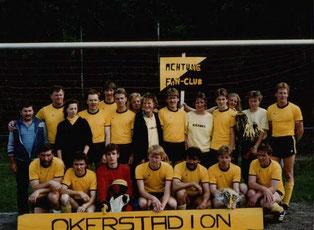 1988 1.Herren Meisterschaft mit Fanclub