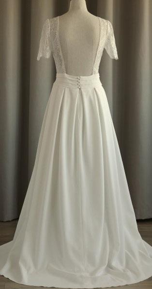 robe de mariée princesse décolleté dos yvelines 78