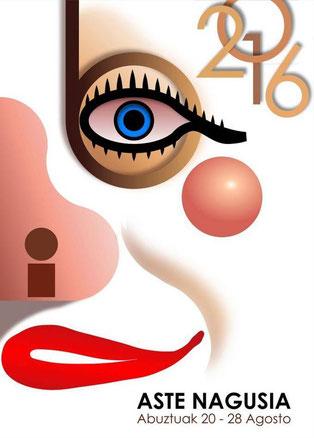 Aste Nagusia 2016 en Bilbao Cartel y Programa