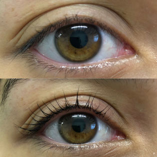 Wimpernlifting für schöne Augen