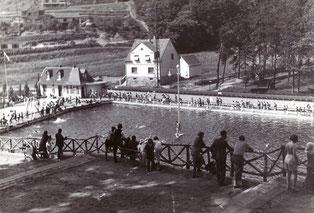 dudweiler, saarbruecken, saarland, schwimmbad, freibad, 1924