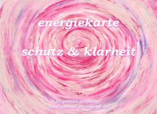 energiekarte schutz & klarheit, je 8,50€