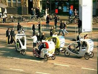 Hamburg, Rikscha, Taxi-Service