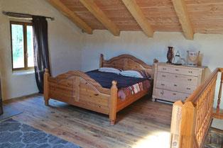 Betten in der Ferienwohnung ohne WLAN und Dect, funkarmer, funkfreier Urlaub