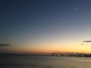 芦屋浜ベランダ