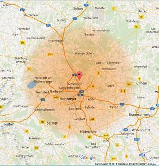 Burgwedel 50km Radius - Mobile Tierheilpraxis Rüth