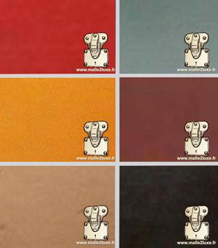 vuittonite couleur estimation Malle Louis Vuitton toile ancienne monogram