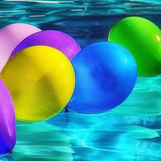 Ballons pour les fêtes organisées par l'UCAL 79120