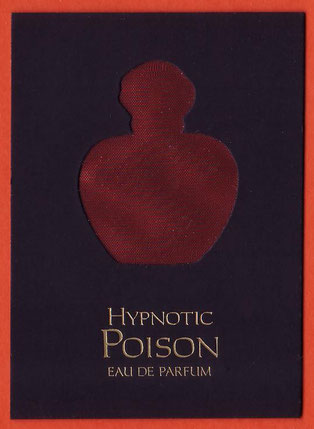 2014 - SUPERBE CARTE HYPNOTIC POISON