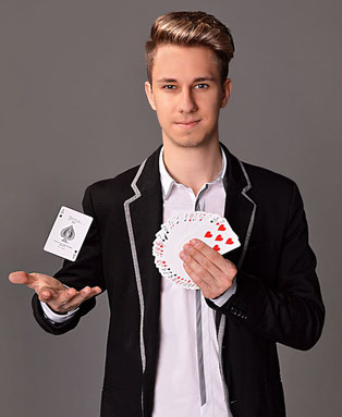 Zauberer Magic Dominik