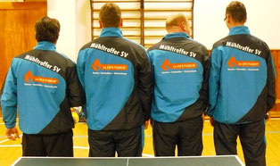 MSV II nach der Schmach von Syrau nur von Hinten: v.l. Marcel Ring, Jan Kessel, Bernd Heller, Sebastian Heinz