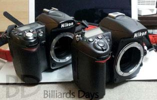 カメラは高価なのでだいぶ時間差アリで買ってます。右が新機
