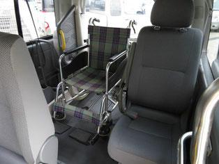 車いすのまま乗車
