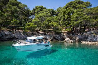 Merry Fisher 795 Sunturist Yachting Yachtcharter Motoryacht Motorboot Zadar,  Marina Tankerkomerc