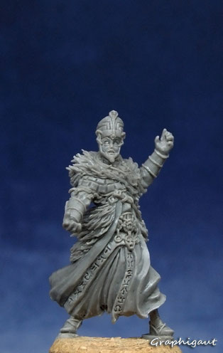 Thot-Ammon, Conan, boardgame, Monolith Games, Graphigaut, Beesputty, handmade sculpture, 32mm