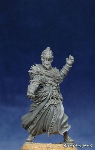 Thot-Ammon, Conan, boardgame, Monolith Games, Graphigaut, Beesputty, handmade sculpture, 32mm