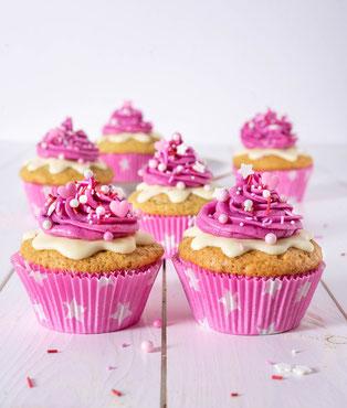 cupcakes, vanilla, zitrone, vegan, backen, bakery, vanille