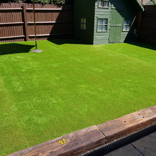 Artificial grass installation Chelmsford, Essex