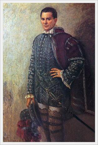 G. Verdi - DON CARLO - Rodrigo Marchese di Posa  Ritratto di Emilio Vitali (1901-1980)