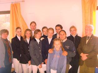Reit- und Longierabzeichen 2011