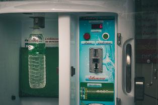 Thailand macht es uns einfach - es gibt einfach überall Trinkwasserspender.