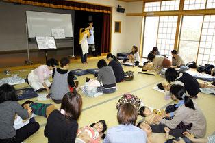 30組の親子が集まって下さいました!参加のみなさん、親子スキンタッチを熱心に受講して下さりありがとうございました。もっと詳しくお知りになりたい方は、いつでもお問い合わせくださいね。仙台教室にもどうぞお越し下さい。(まえだゆきえ)